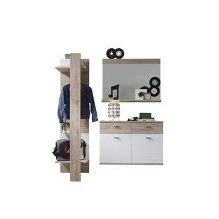Check Price Campri 3 Piece Hallway Set