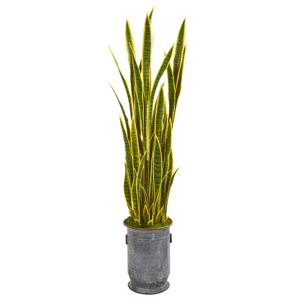 Artificial UV Protected Sansevieria 30IN Silk Plant Decor and More