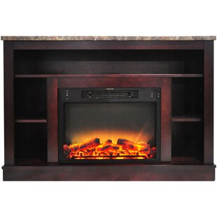 Charlton Home Eudora Electric Fireplace
