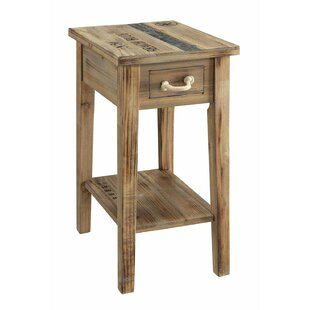 Highland Dunes Burbage Chairside Table