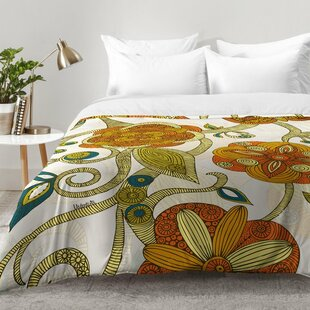 East Urban Home Flowers Comforter Set