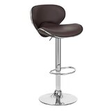 Boca Adjustable Height Swivel Bar Stool by Orren Ellis