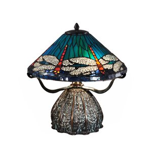 Shire Dragonfly Trunk 17.5 Table Lamp