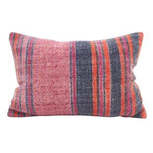 Rupert Stripes Accent Down Filled Lumbar Pillow