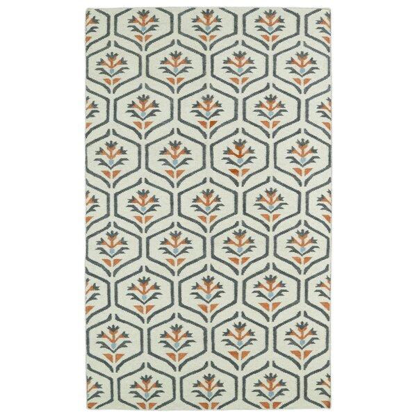 Winston Porter Gillespie Ivory Geometric Area Rug Reviews Wayfair