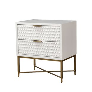 Becton 2 Drawer Nightstand by Ivy Bronx