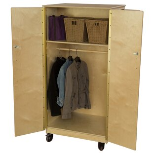 Contender Mobile Teacher's Classroom Cabinet by Wood Designs