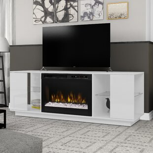 Television Firebox TV Stand for TVs up to 60 with Fireplace