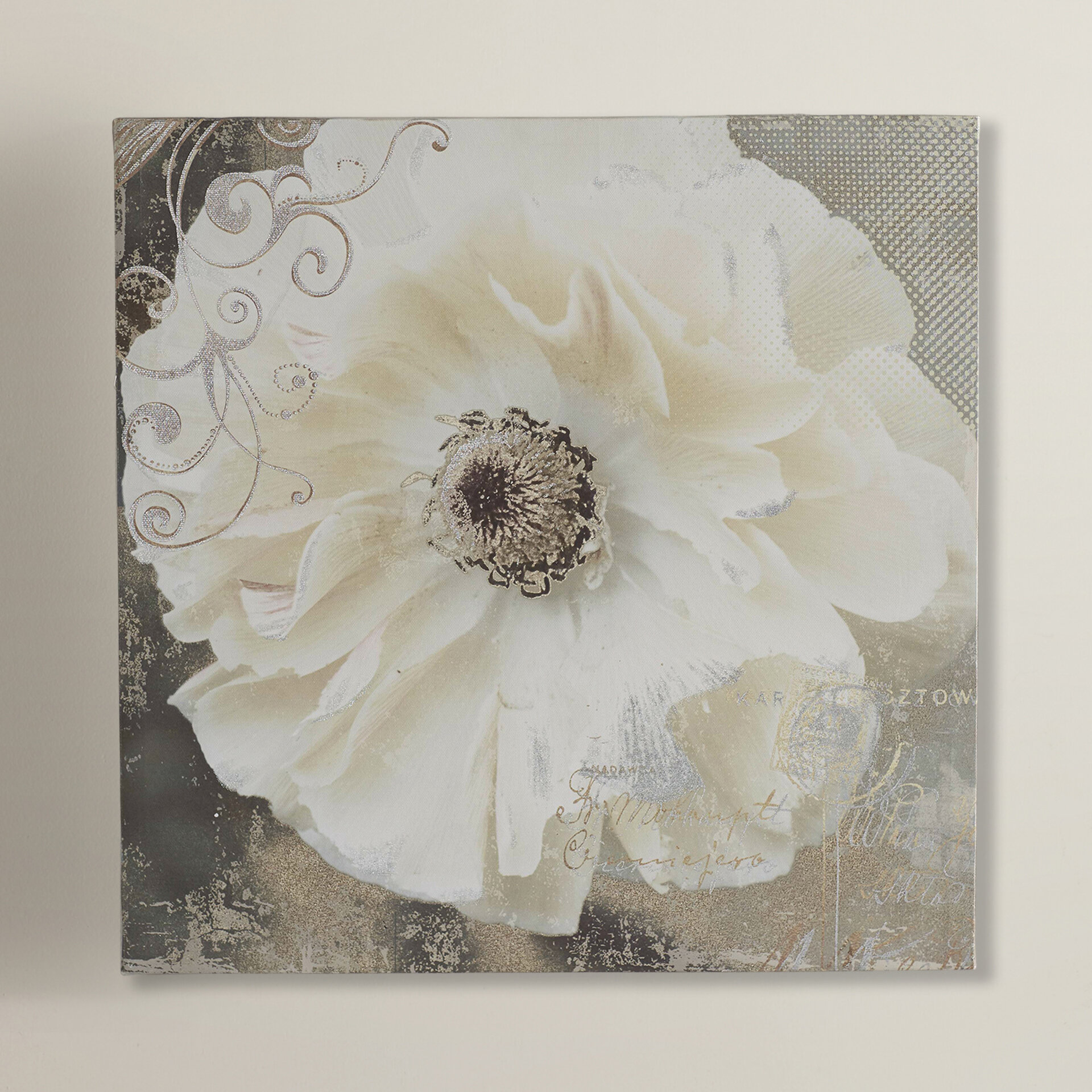 Ophelia Co Blooming Softly I Painting Print On Wrapped Canvas Reviews Wayfair