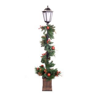 muriel pine potted 60 lamp post by the holiday aisle