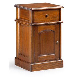 Pagedale 1 Drawer Bedside Table By Rosalind Wheeler