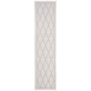 Hahn Light Gray/Ivory Indoor/Outdoor Area Rug