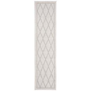 Hahn Light Gray/Ivory Indoor/Outdoor Area Rug