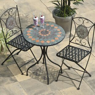 Paxton 2 Seater Bistro Set By World Menagerie