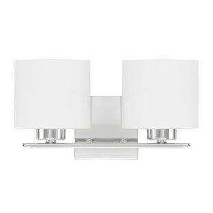 Cedartown 2-Light Vanity Light by Zipcode Design