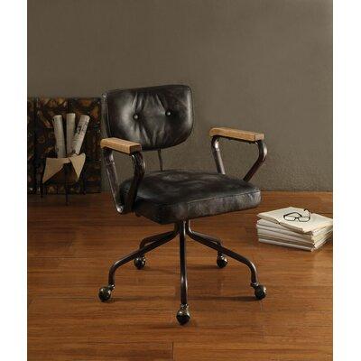 17 Stories Cornelio Task Chair Color Black