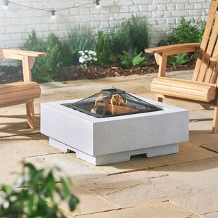 Frederika MgO Wood Burning And Charcoal Fire Pit By Sol 72 Outdoor