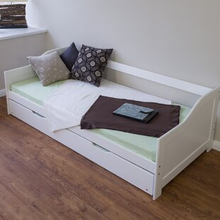 Lindsay European Single Bed Frame With Trundle By 17 Stories