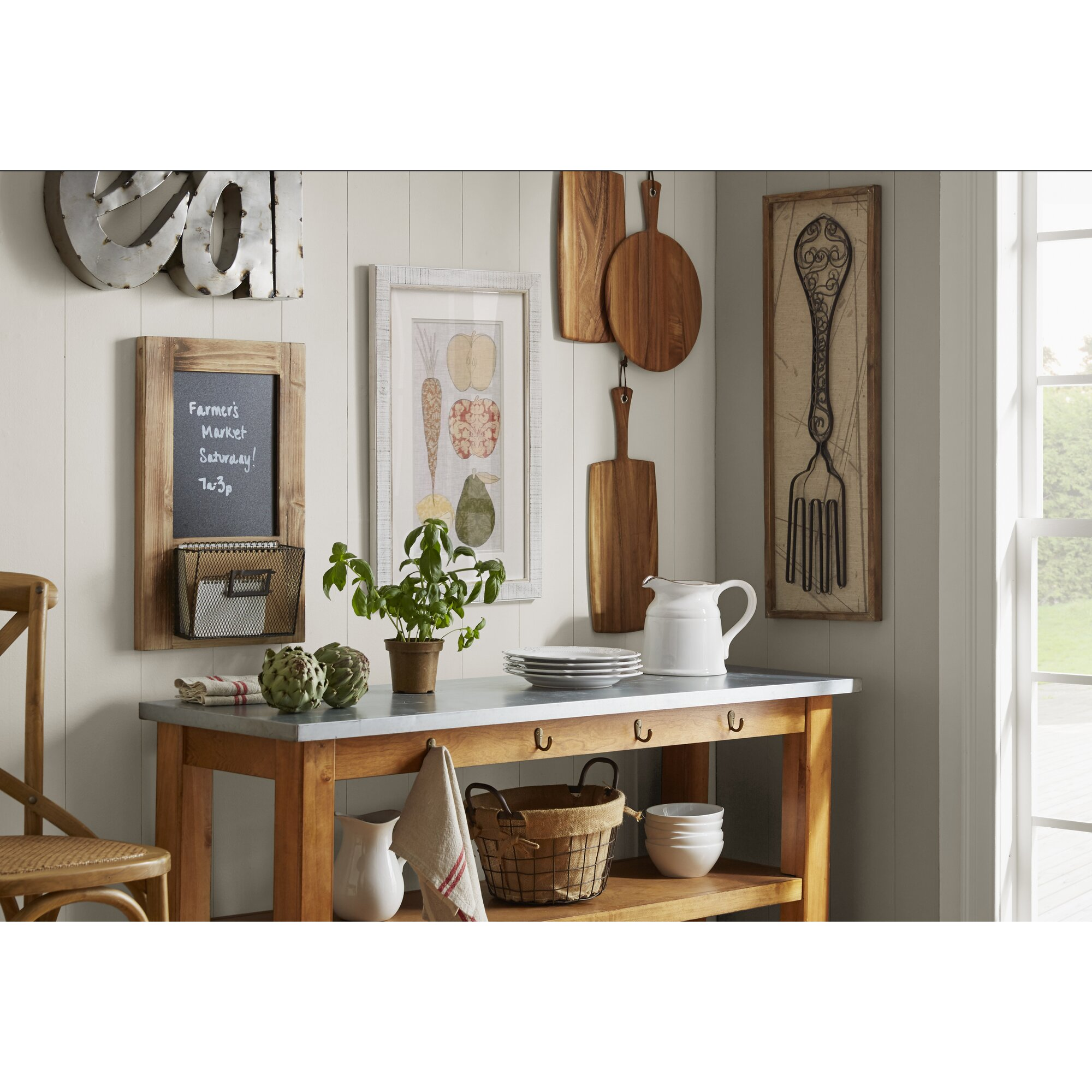 Spoon And Fork Wall Decor august grove superior 2 piece spoon and fork wall décor set