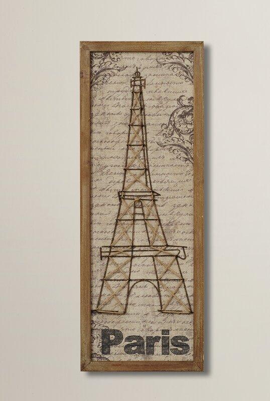 Attirant Eiffel Tower Wall Decor