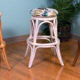 Wixom 24 Swivel Bar Stool by Bay Isle Home