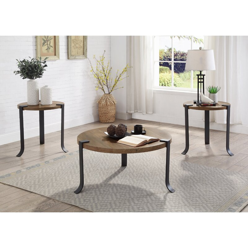Williston Forge Wellston 3 Legs 3 Bunching Coffee Table Wayfair