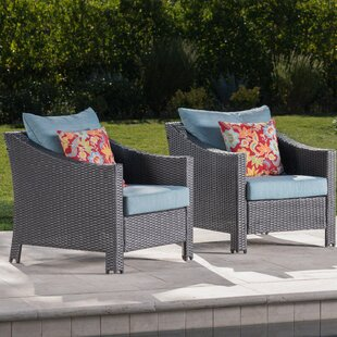 Highland Dunes Hellman Patio Chair with C..