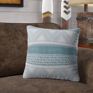 Mock Artisan Tribal Accent Cotton Throw Pillow