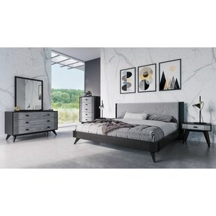 Donham Panel 5 Piece Bedroom Set