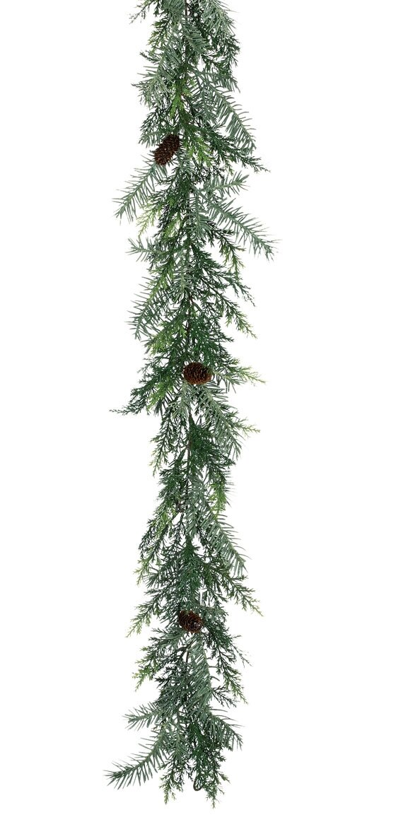 The Holiday Aisle Canale Prickly Pine Garland Wayfair