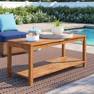 Laverock Wooden Coffee Table By Breakwater Bay
