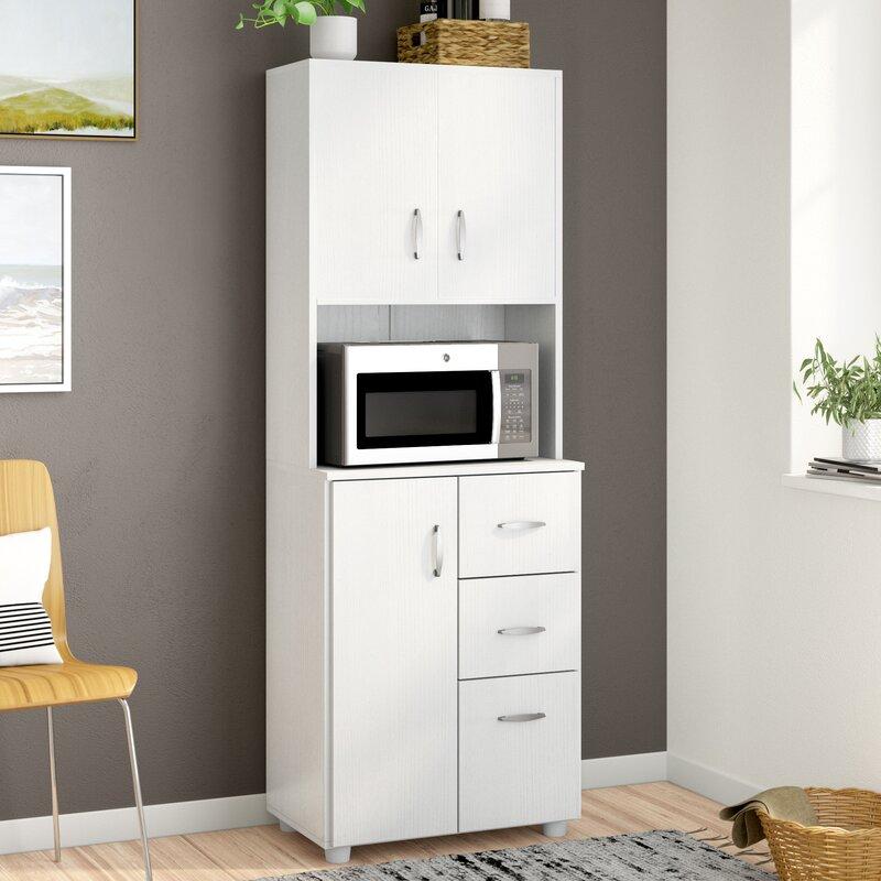 Zipcode Design Hyland 66 Kitchen Pantry Reviews Wayfair