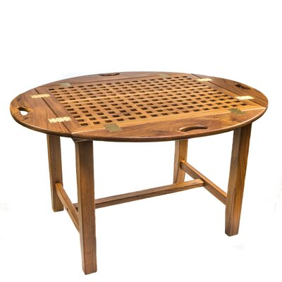 Butler Teak Folding Dinning Table by Whitecap Teak #1