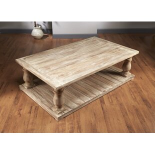 Dickens Four Column Coffee Table