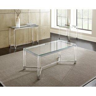Wade Logan Farmingdale 3 Piece Coffee Table Set