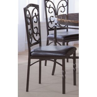 Fleur De Lis Living Vaughan Side Upholstered Dining Chair (Set of 4)