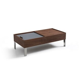 Deidre Wood and Metal Coffee Table by Corrigan Studio