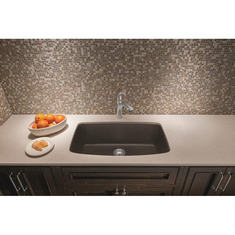 Valea 32 L X 19 W Super Single Undermount Kitchen Sink