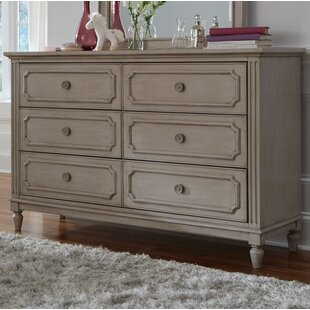 Alaina 6 Drawer Double Dresser by One Allium Way