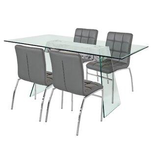 Eddington Dining Set With 6 Chairs By Metro Lane