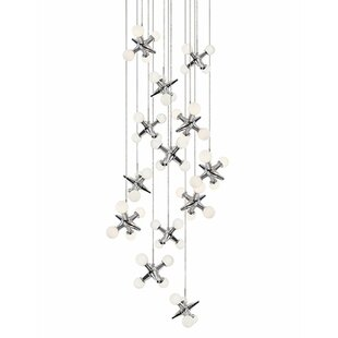Hex 13-Light Pendant by Ra..