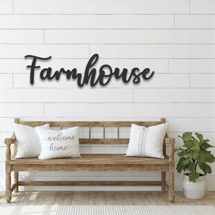 Farmhouse Signs Wayfair