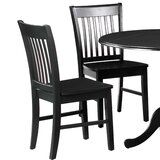 Spiller Solid Wood Dining Chair (Set of 2) by Winston Porter