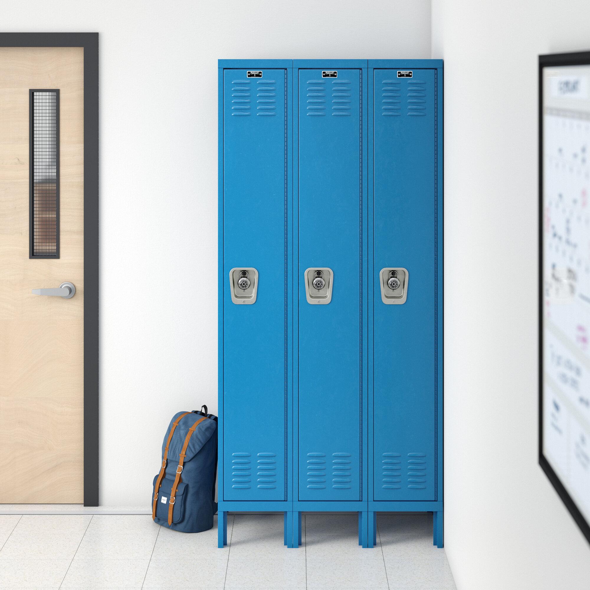 Décoration Pour Casier D École 1 casier d'école large de niveau 3 premium