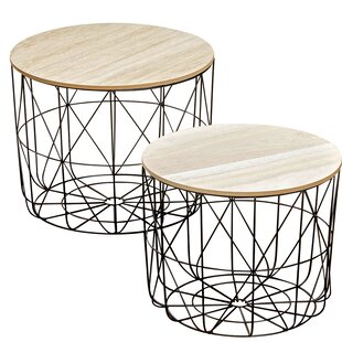 Blomkest 2 Piece Coffee Table Set
