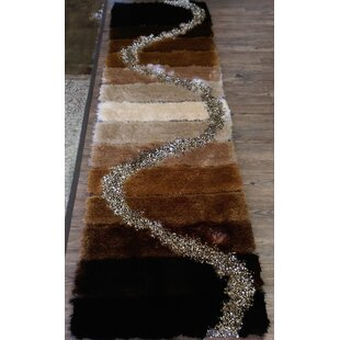 Price comparison Hand-Tufted Brown/Beige Area Rug By Rug Factory Plus