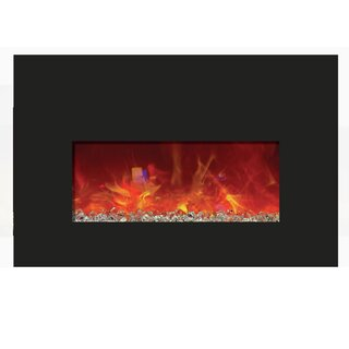 Aragam Wall Mounted Electric Fireplace (Set of 10) by Orren Ellis SKU:EE991472 Details