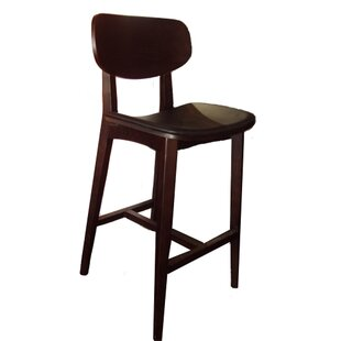 Peirce Solid Wood 41 Bar Stool Loon Peak