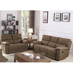 Price comparison Oaklawn Motion 2 Piece Reclining Living Room Set by Red Barrel Studio Reviews (2019) & Buyer's Guide