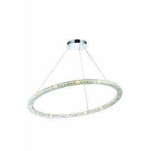 Edgardo 42-Light Geometric Chandelier by Orren Ellis